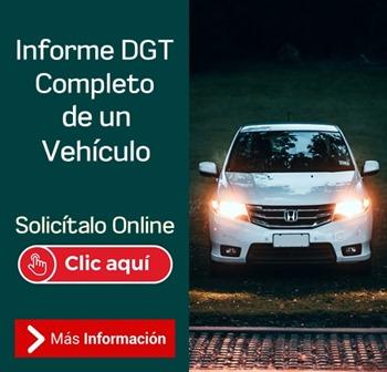 INFORME COMPLETO DGT TRÁFICO VEHÍCULO
